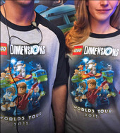 Worlds Tour Shirts for Comic Con