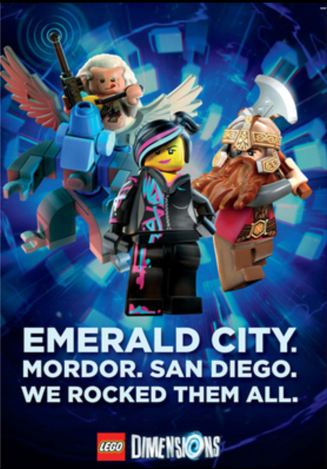 Lego Dimensions Poster