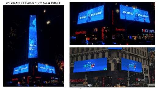 AT&T Times Square Takeover