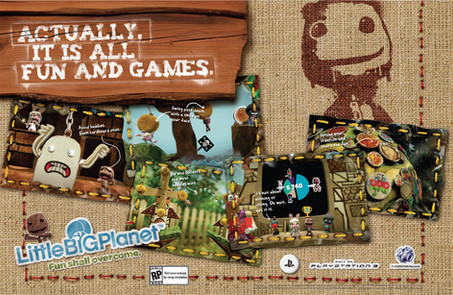 Playstation Little Big Planet Print