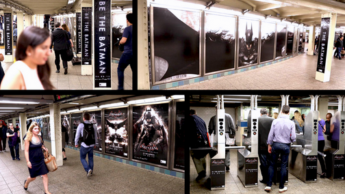 NYC Station Domination for Arkham Knight Game