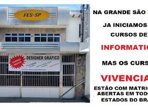 CURSOS PROFISSIONALIZANTE E VIVENCIAS - GRÁTIS, PROMOVIDOS PELA ONG ELO SOCIAL DO BRASIL.