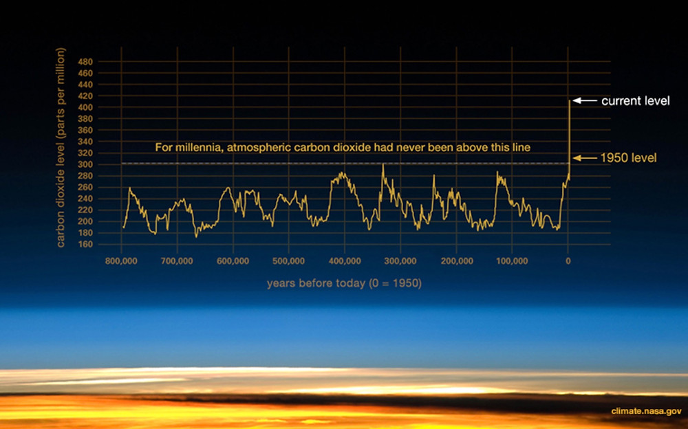 Carbon Down seeks to reverse the spike in carbon dioxide.