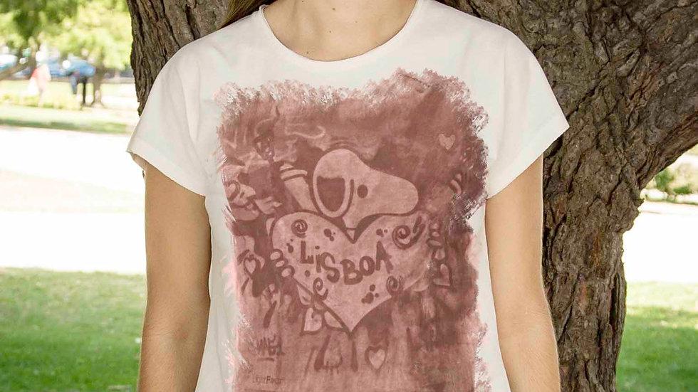 T-shirt with Lisbon'Heart