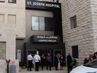 Saint Joseph Hospital Visit