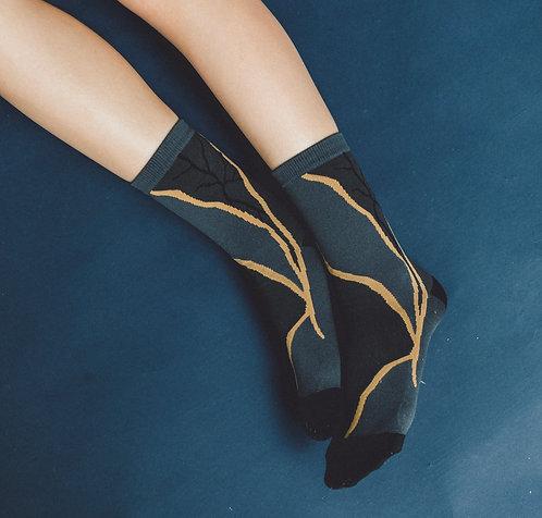 Kintsugi Socks