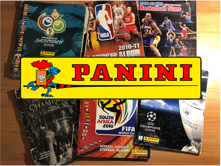 Panini sličice – nostalgija za vsakega športnega navdušenca