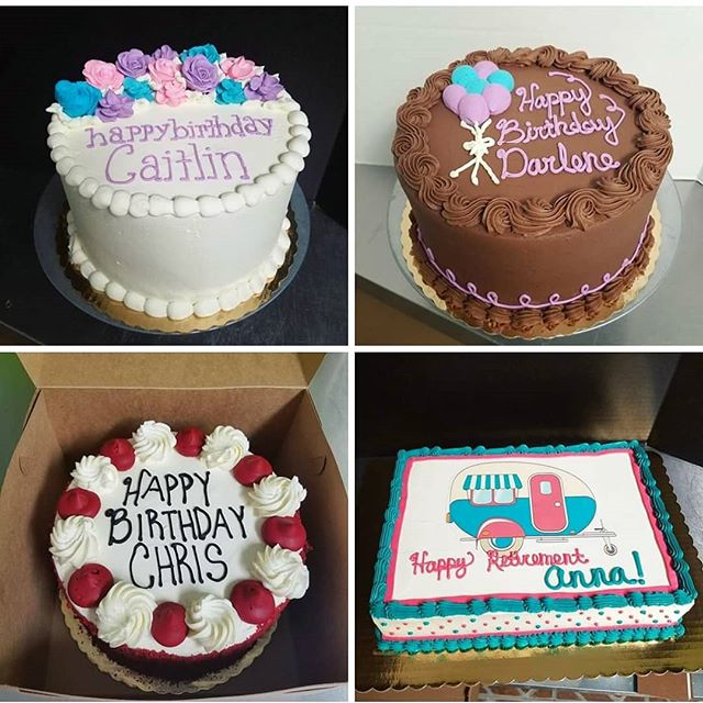 A few of last week's cakes! Always made