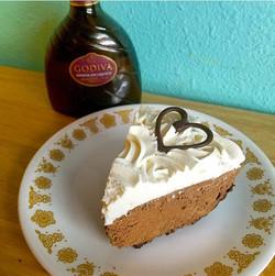 Godiva Chocolate Mousse Pie