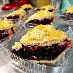 Cranberry Blueberry Pie