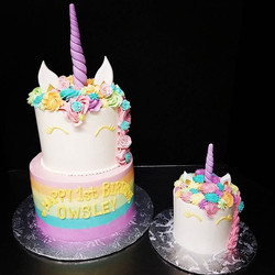 World's cutest unicorn cakes for the wor