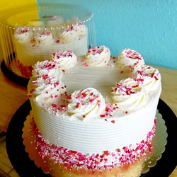 Sprinkle confetti cake