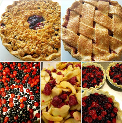 Made from scratch fruit pies