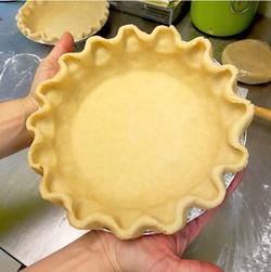 Made from scratch crust!