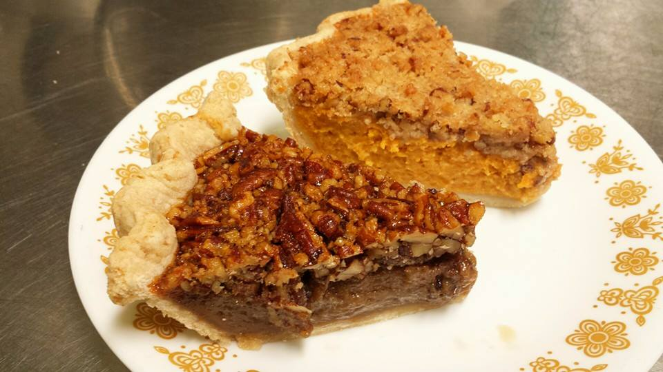 Pecan & Sweet potato pecan-streusel
