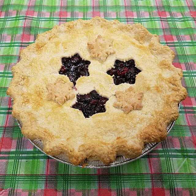 Cranberry-Blueberry Pie