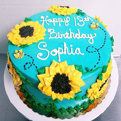 Happy 13th Birthday to Sophia! 🐝🌻🎂