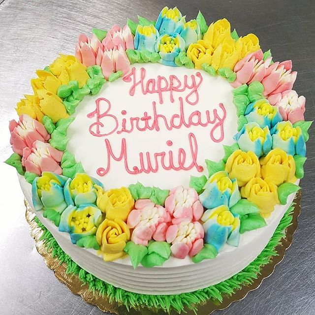 Happy Birthday Muriel! 🎉🎁🎂 Thank you
