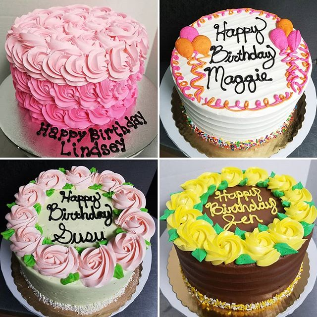 Custom cakes made from scratch with lots