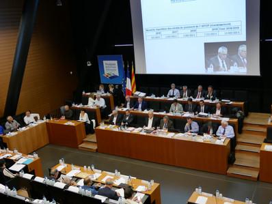 Conseil du 30/03/2017 - Budget primitif adopté à la majorité… «plus une voix» !