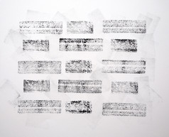 """""""Untitled (Styrofoam Bricks)"""""""