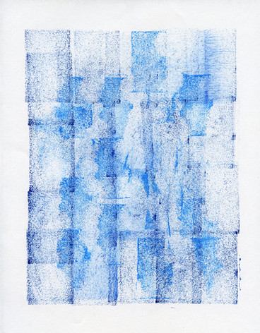 """Untitled (Blue on Blue)"""
