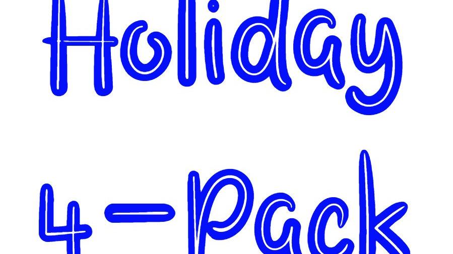 Holiday Mixed 4-Pack