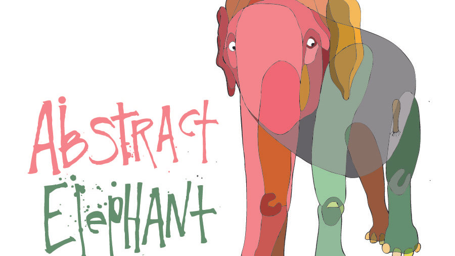 Abstract Elephant 10%