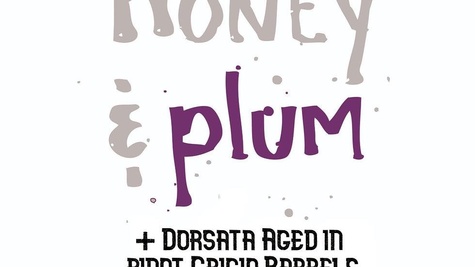 Plum & Dorsata Aged in Pinot Grigio - 16%