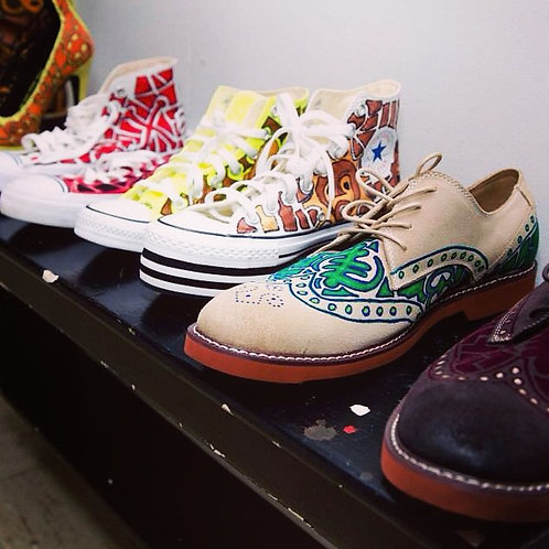 HANDPAINTED FOOTWEAR