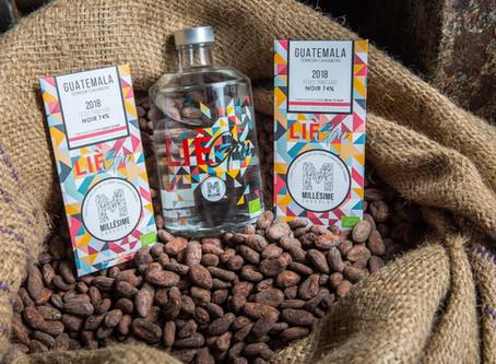 LièGin et Millésime s'associent pour créer un gin au chocolat