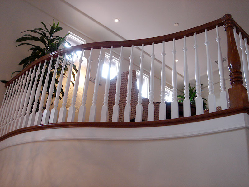 Balcony Wood Balusters