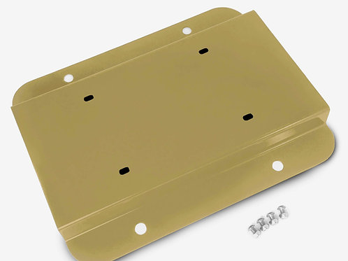 License Plate Relocation Kit, Military Beige