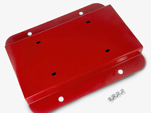 License Plate Relocation Kit, Red Baron
