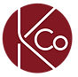 KCo Ad Agency logo with red circle and white lettering