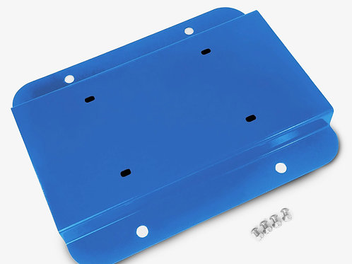 License Plate Relocation Kit, Playboy Blue