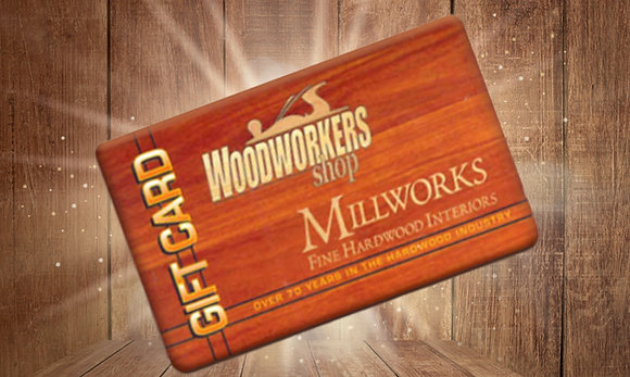 Woodworkers Gift Card