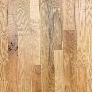 "9/16"" x 4 1/4"" Red Oak Rustic Unfinished Flooring"