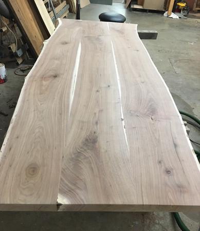 Walnut Diningl Table Before 1