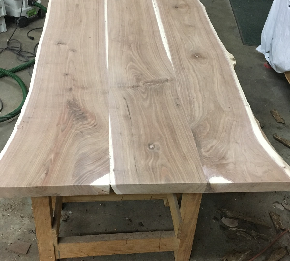 Walnut Dining Table Before 2