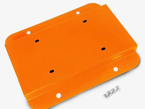 License Plate Relocation Kit, Fluorescent Orange