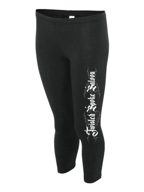 The Twisted Leggings (Black)