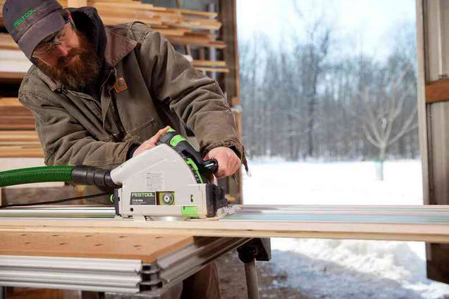 Festool Plunge Cut Track Saw TS 55 REQ-F-Plus