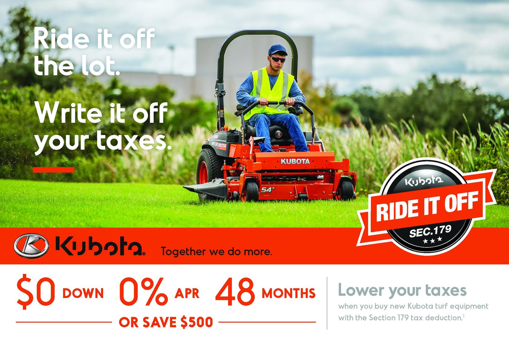 Kubota commercial Mower
