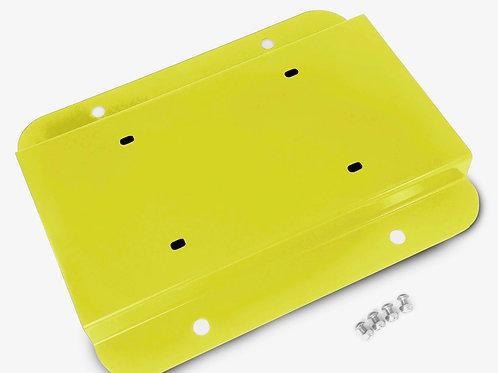 License Plate Relocation Kit, Lemon Peel
