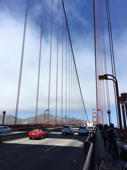 Bike across Golden Gate Bridge