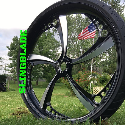 "23"" x 5.5"" SLINGBLADE FATTY FRONT WHEEL"