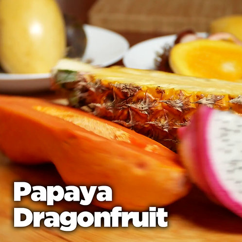 Papaya Dragon Fruit Fidget Sniffer