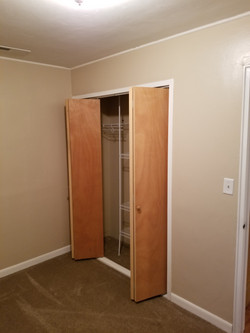 Small Bedroom-Den  facing closet