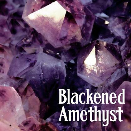 Blackened Amethyst
